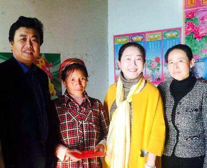 貧困母親救助項目在云南玉溪開展救助活動